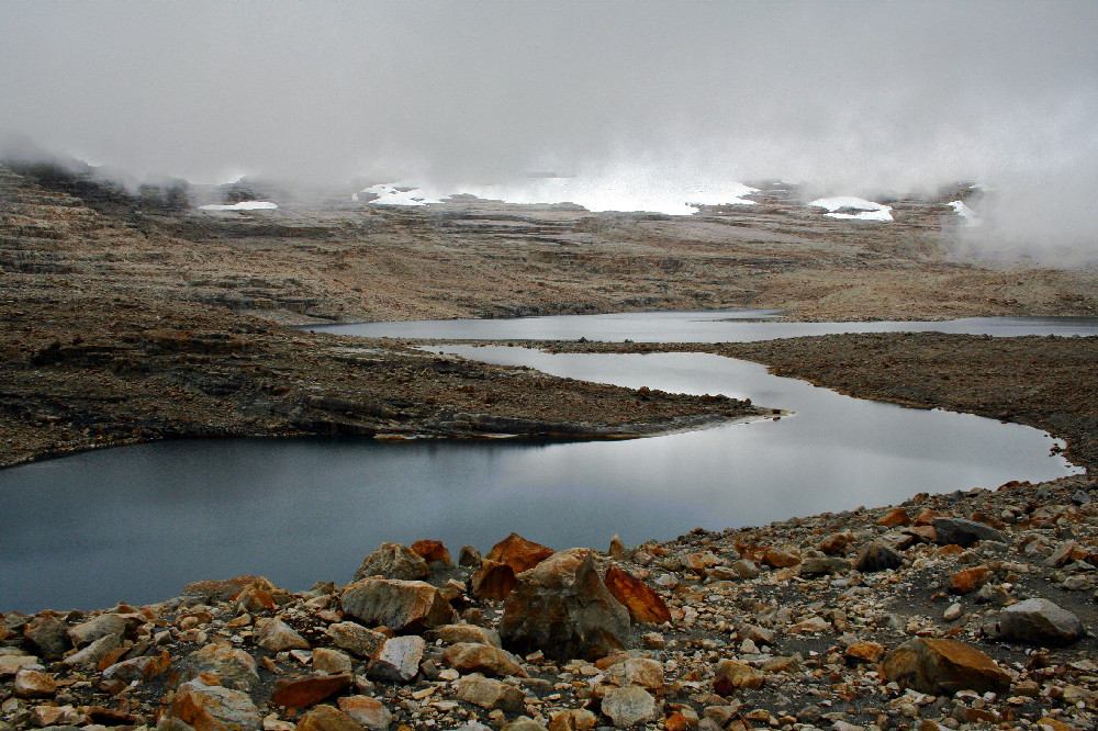 Nevado del Cocuy, uno de los más afectados por el cambio climático en Colombia. Fotografía de Cristian García para Parques Nacionales Naturales