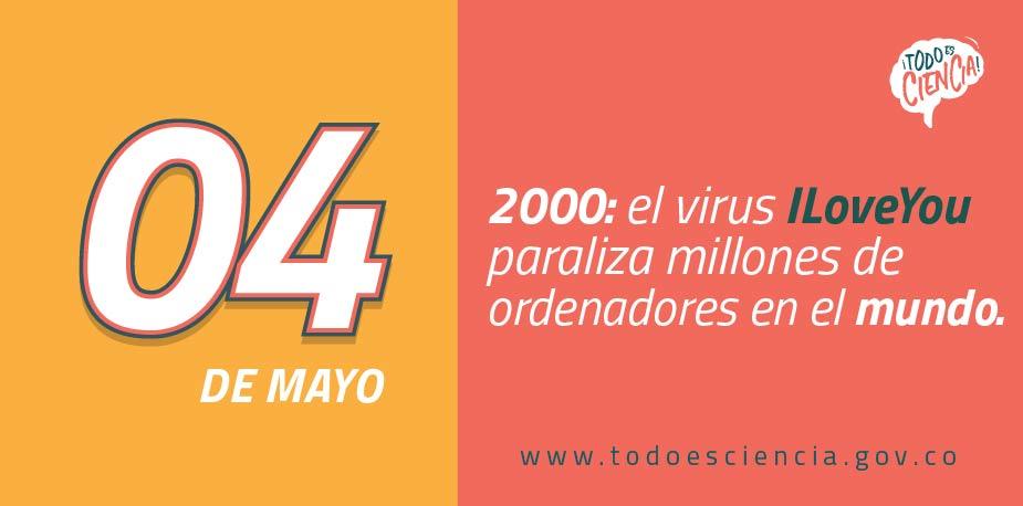 04 de mayo de 2000: el virus ILoveYou