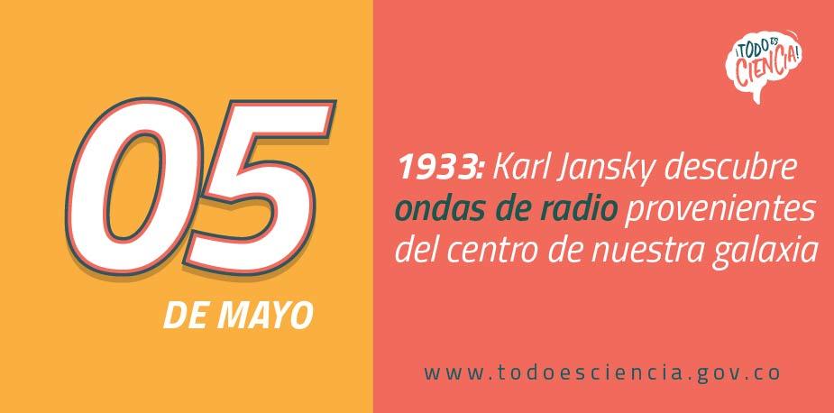 05 de mayo: Ondas de Radio