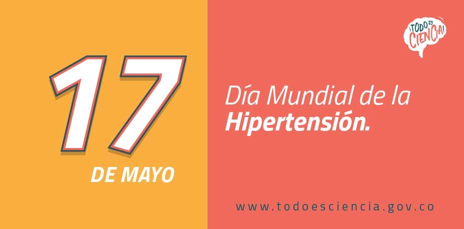 17 de mayo: Día Mundial de la Hipertensión.