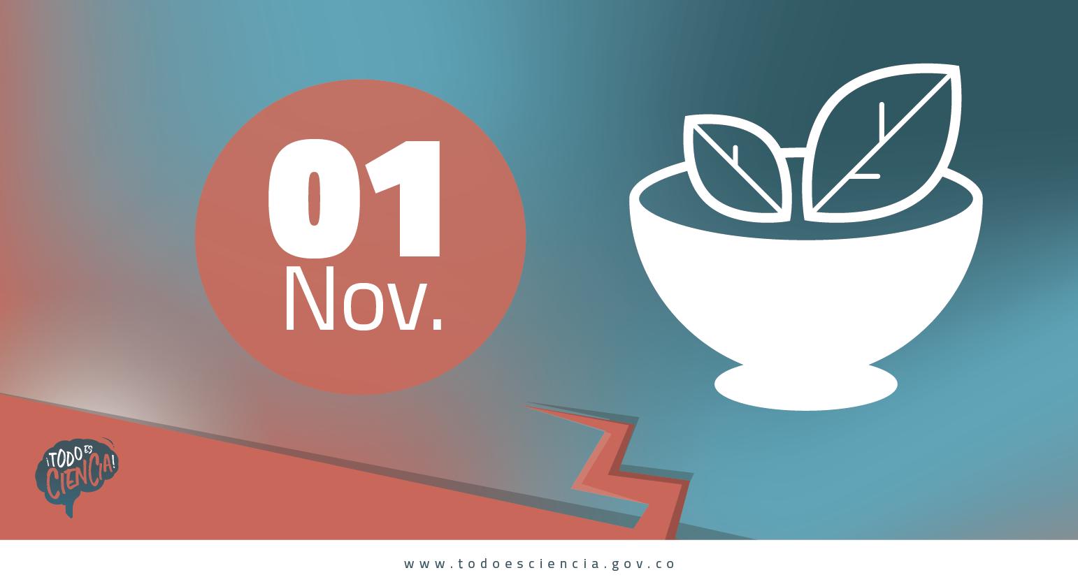 Efemerides: 01 de noviembre día mundial del Veganismo