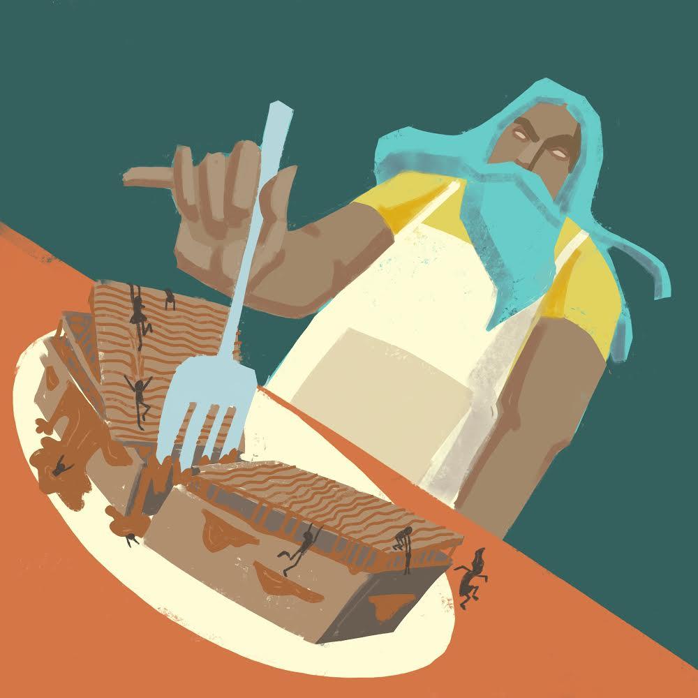 ¿Qué nos puede enseñar la pastelería sobre nuestro planeta? En esta columna, Brigitte Baptiste nos muestra lo que dice un bizcocho acerca de la Tierra. Ilustraciones de Carlo Guillot.