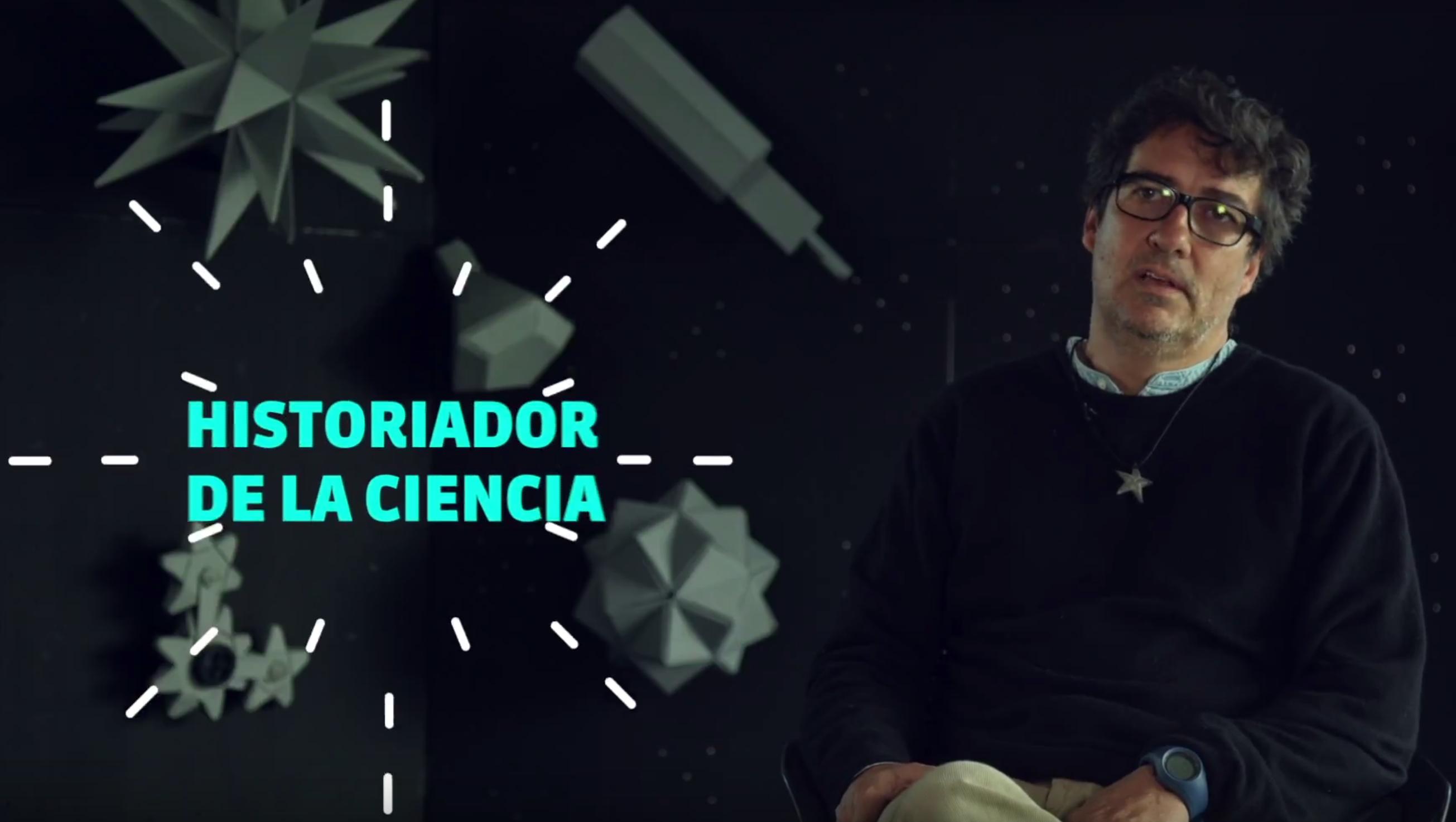 Mauricio Nieto, historiador de la ciencia, Universidad de los Andes