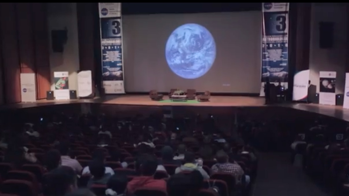Fórmulas de Cambio: Congreso de Astrobiología