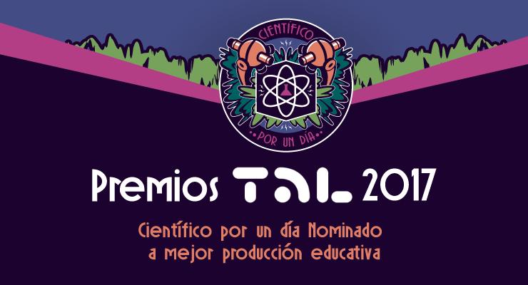 CX1 Día Nominado a los premios TAL