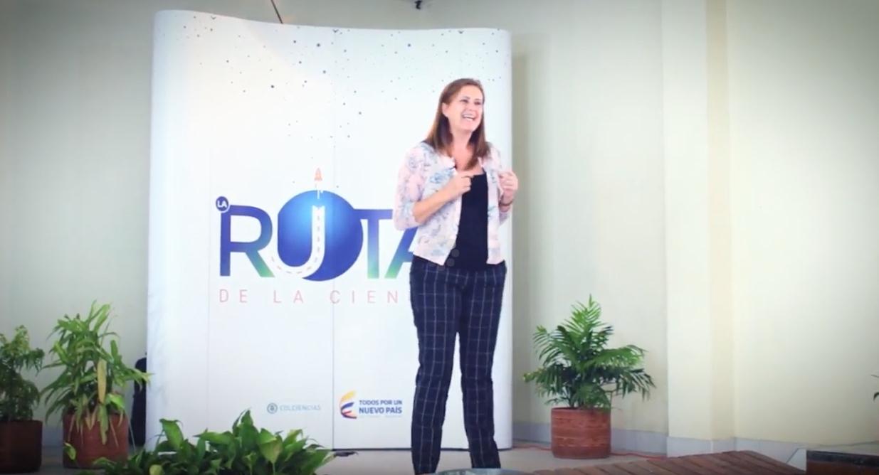 La Ruta de la Ciencia - Martha Gómez