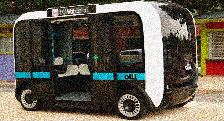 Olli, un mini bus con diseño colombiano, caso de éxito e innovación.