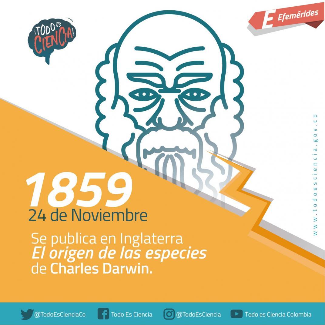 Efemérides: 24 de noviembre de 1859 - El Origen de las Especies