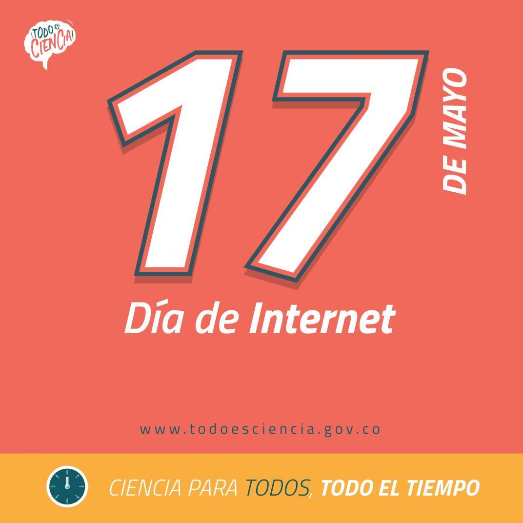 17 de mayo: Día de Internet.