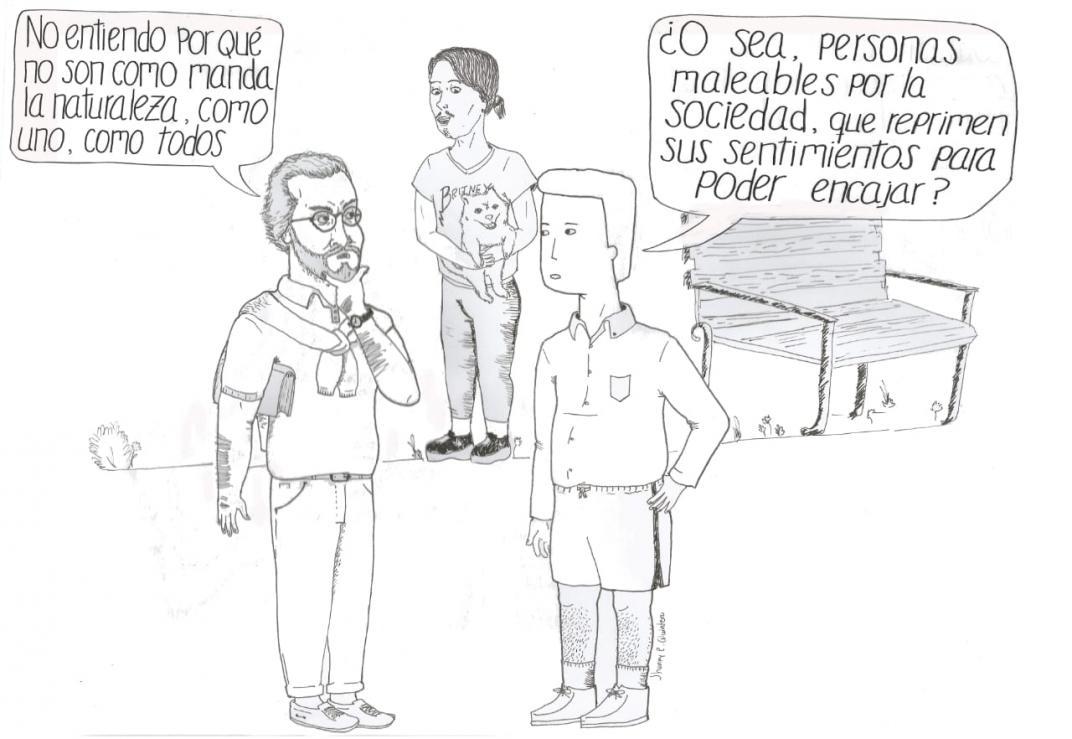 ¿Prejuicio o naturaleza? Columna de Eduardo Arias ilustrada por Jhonny R Quintero
