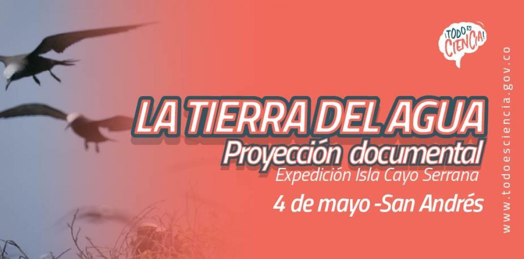 """Proyección """"La Tierra del Agua""""4"""