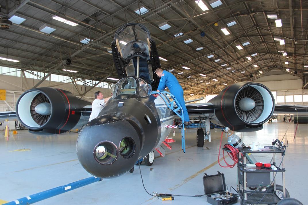 Avión B-57