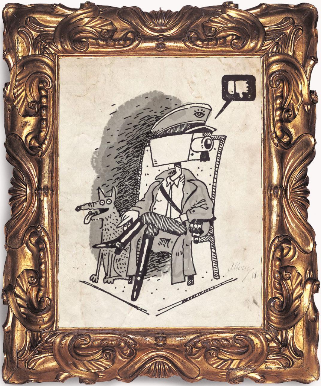 La máquina de la invisibilidad, columna de Andrés Carvajal ilustrada por Saga Uno