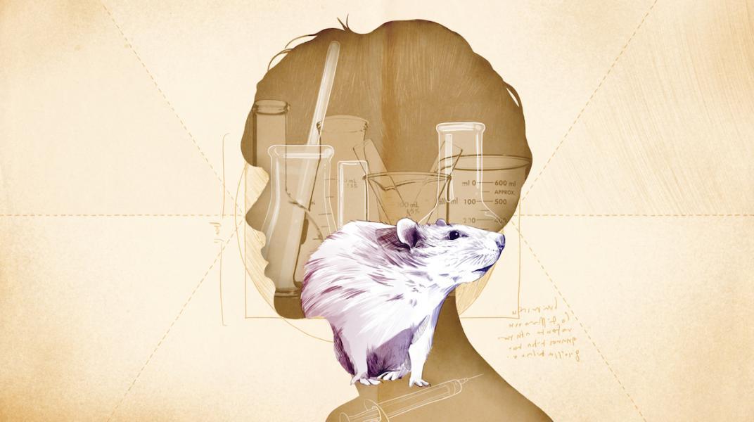 Experimentos con animales. Texto de Juan Sebastián Salazar. Ilustración de Lilondra.