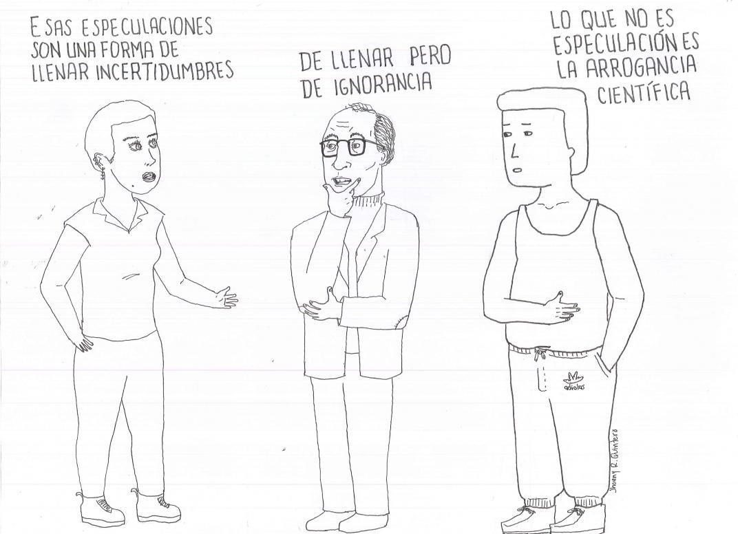 Especular, columna de Brigitte Baptiste ilustrada por Jhonny Rodríguez Quintero
