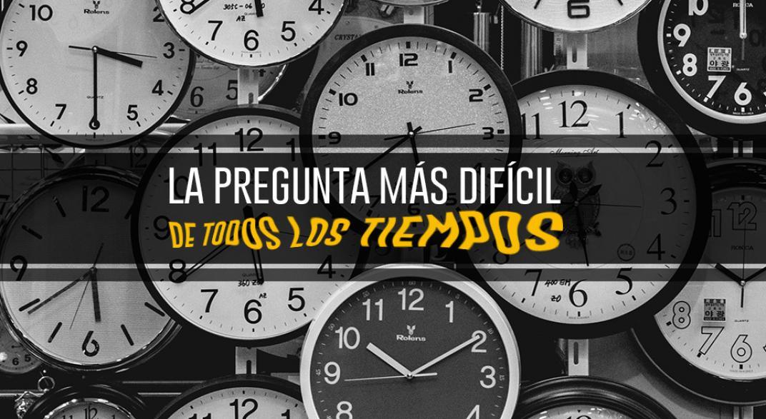 El tiempo es una de las incognitas a la que intentamos darle una explicación a lo largo de nuestra historia.
