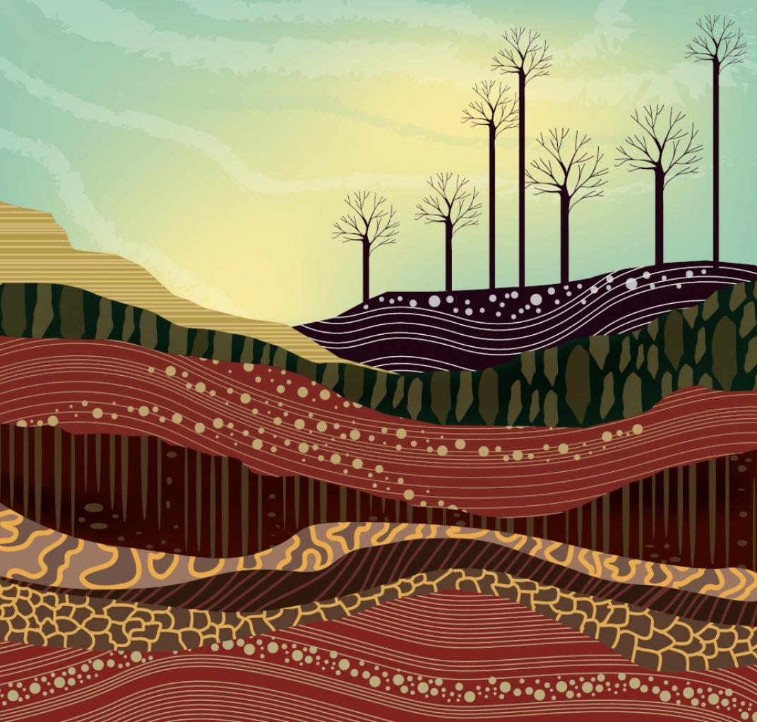 La tierra está hecha de capas de roca. El 'Fracking' rompe esta roca con agua a presión para libear gas y petróleo del subsuelo.