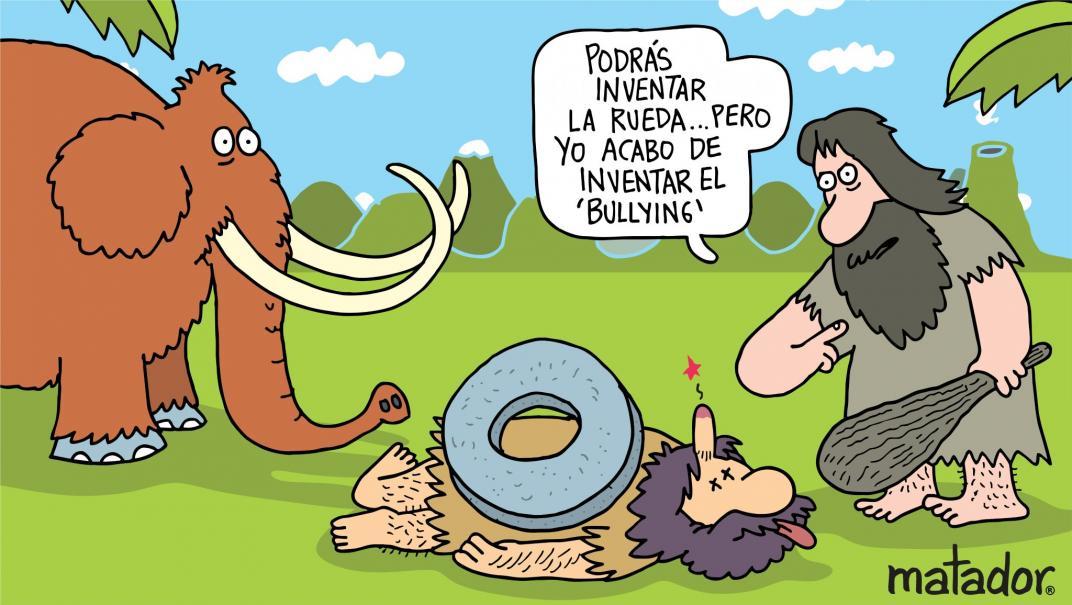 Respeto, una columna de Andrés Carvajal ilustrada por Matador