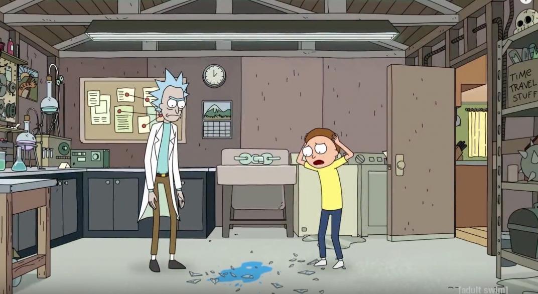 Rick and Morty Exquisite Corpse, del canal de YouTube de Rick and Morty de Adult Swim