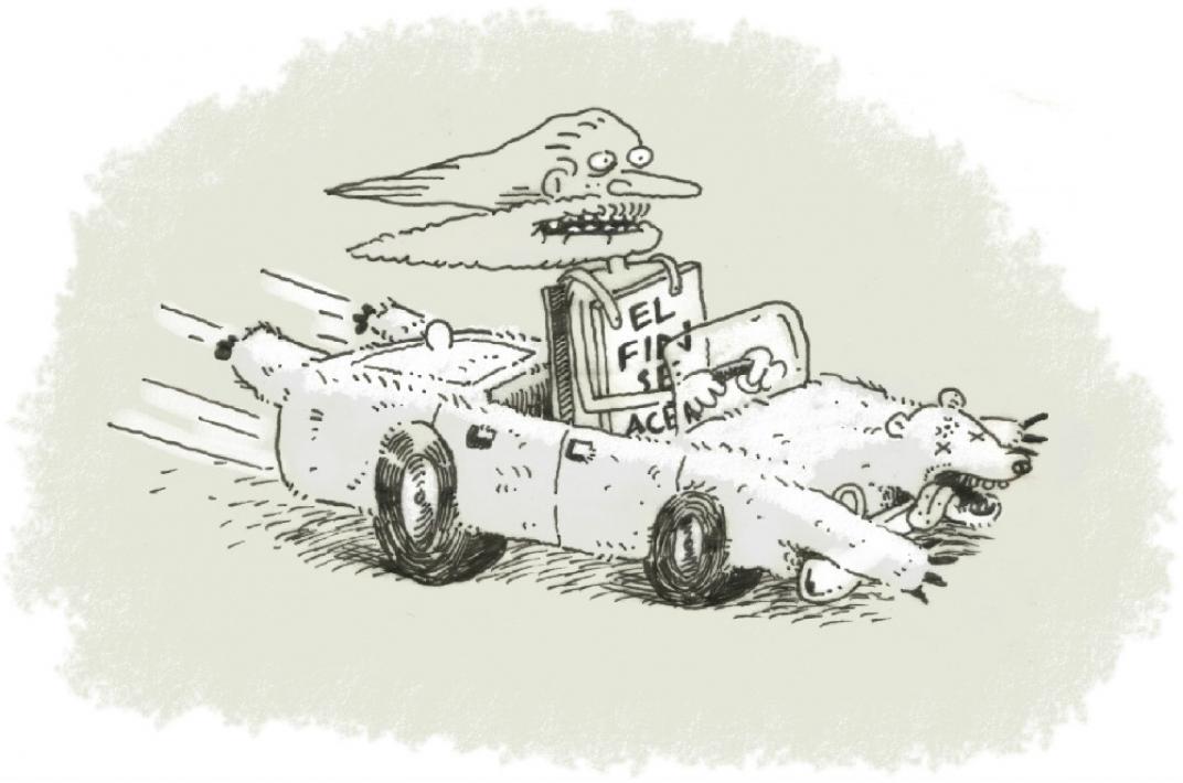fin del mundo caricatura
