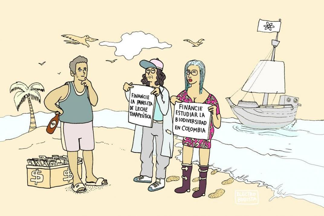 ¿Para qué necesitamos a los científicos? Columna de Mario Víctor Vázquez ilustrada por Electrobudista