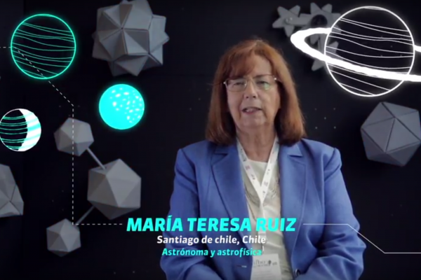 María Teresa Ruiz González habla sobre la astronomía en Chile